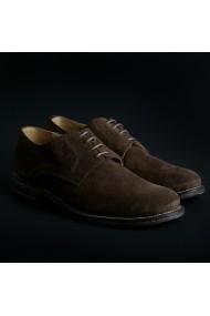 Pantofi Duca di Morrone O6D_CAMOSCIO_MARRONE