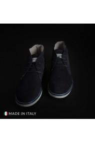Pantofi Duca di Morrone 233D_CAMOSCIO_BLU