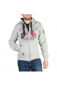 Pulover Geographical Norway Flepto100_man_bgrey