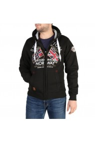 Pulover Geographical Norway Flepto100_man_black