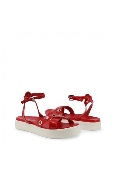 Sandale plate Marina Yachting LIUTEA181W632145 RED