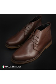 Pantofi Duca di Morrone 233_PELLE_MARRONE