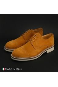 Pantofi Duca di Morrone 322_CAMOSCIO_TABACCO