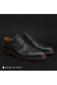 Pantofi Duca di Morrone 322_PELLE_BLU