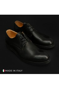 Pantofi Duca di Morrone ST600_PELLE_NERO