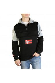Pulover Geographical Norway Fagostino007_man_black
