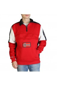 Pulover Geographical Norway Fagostino007_man_red