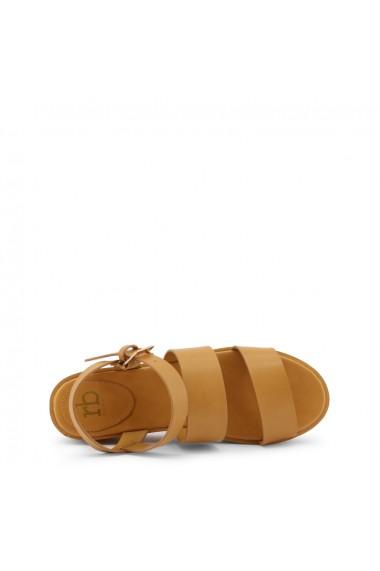 Sandale plate Roccobarocco RBSC18Y02 CUOIO