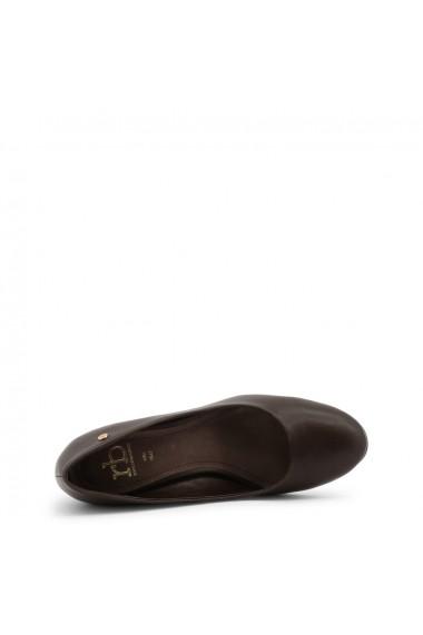 Pantofi cu toc Roccobarocco RBSC0VE01NAP_MORO