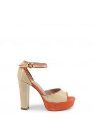 Sandale cu toc Roccobarocco ROSC74T03_BEIG-CORAL