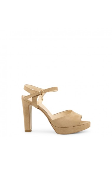 Sandale cu toc Roccobarocco RBSC05V11_BEIGE