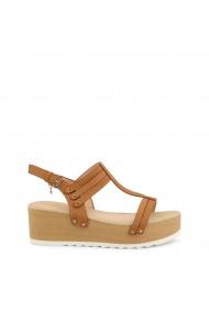 Sandale cu toc Roccobarocco RBSC1YH01_CUOIO