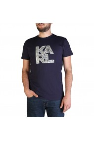 Tricou Karl Lagerfeld KL21MTS01_Navy