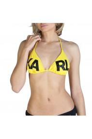 Costum de baie Karl Lagerfeld KL21WTP05_Yellow