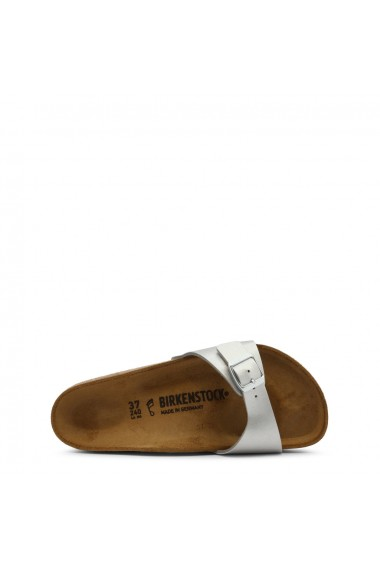 Papuci Birkenstock MADRID_40411_SILVER