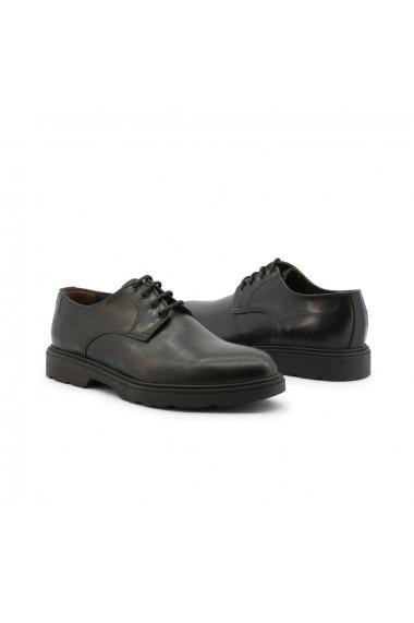 Pantofi Duca di Morrone AGOSTINO-PELLE_NERO