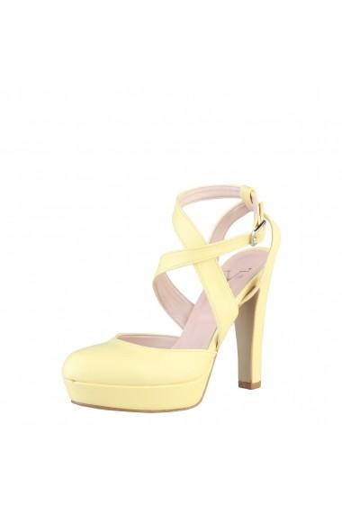 Sandale cu toc Versace 1969 INES GIALLO galben