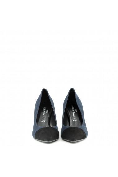 Pantofi cu toc Made in Italia FLAVIA NERO-BLU