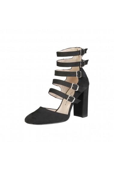 Pantofi cu toc Made in Italia CORA NERO negru