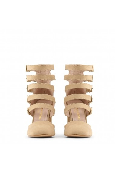 Pantofi cu toc Made in Italia CORA SABBIA bej