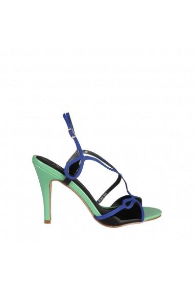 Sandale Versace 1969 JADE VERDE-NERO multicolor