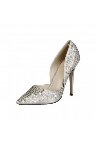 Pantofi cu toc Versace 1969 YOLANDE NUDE bej