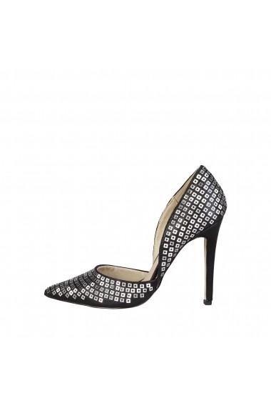 Pantofi cu toc Versace 1969 YOLANDE NERO negru