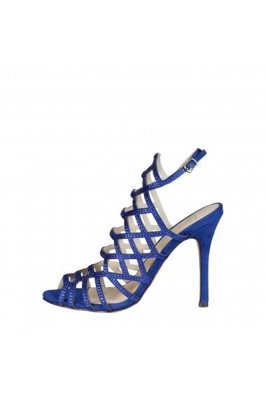 Sandale Versace 1969 EMILIE BLU albastru