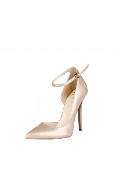 Pantofi cu toc Versace 1969 EVELYNE BEIGE bej