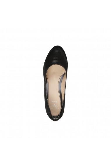 Pantofi cu toc Versace 1969 MELODIE NERO negru