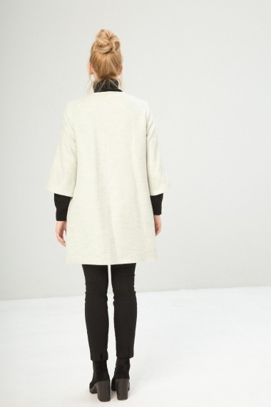 Palton Fontana 2.0 S11065E-KABAN MINT crem - els