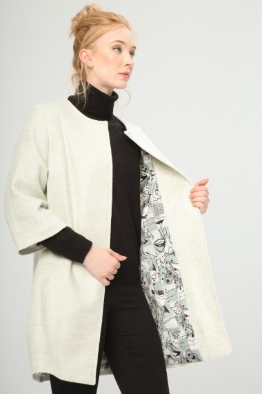 Palton Fontana 2.0 S11065E-KABAN MINT crem