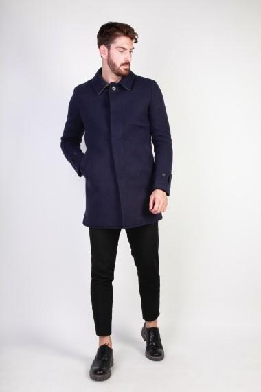 Palton Made in Italia ADOLFO_BLU
