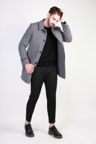 Palton Made in Italia ADOLFO_GRIGIO