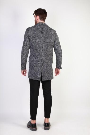 Palton Made in Italia AMERIGO_NERO