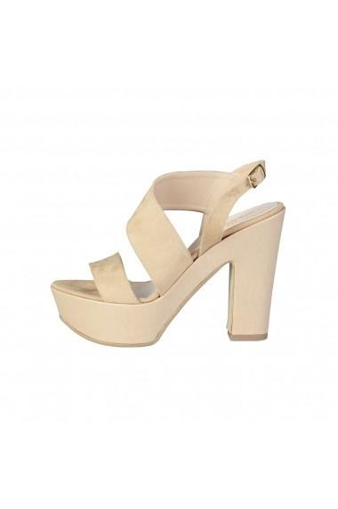 Sandale cu toc Made in Italia FIAMMETTA TAUPE