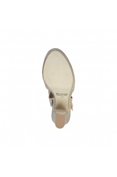 Sandale cu toc Made in Italia ENIMIA PLATINO argintiu