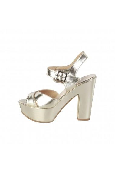 soiuri largi pantofi de separare AliExpress Sandale cu toc Made in Italia ENIMIA PLATINO argintiu - FashionUP!