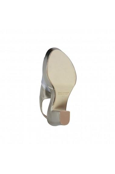 Sandale cu toc Made in Italia BIBIANA PLATINO argintiu