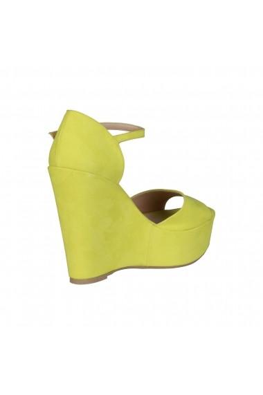 Sandale cu platforma Made in Italia BENIAMINA GIALLO galben