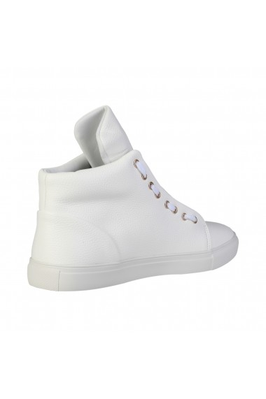 Pantofi sport Duca di Morrone DUSTIN_WHITE alb