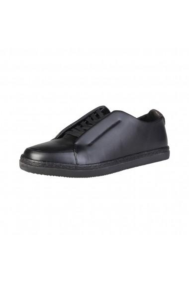 Pantofi sport Duca di Morrone STUART_BLACK negru