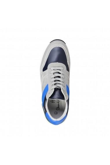 Pantofi sport Duca di Morrone DEREK_LTGREY gri