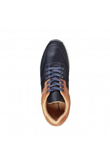 Pantofi sport Duca di Morrone HARVIE_NAVY bleumarin