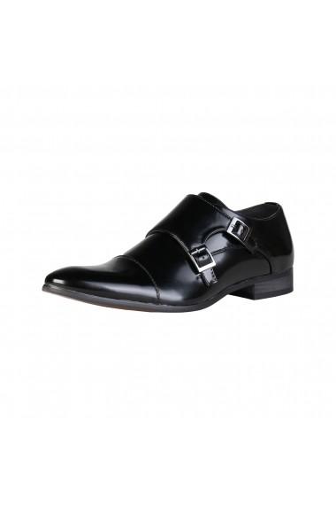 Pantofi Duca di Morrone JAMES_BLACK Negru