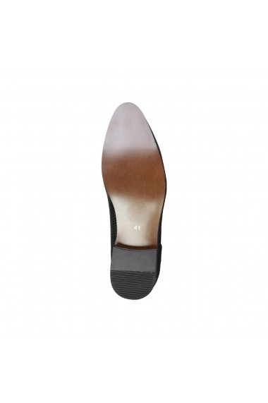 Pantofi Duca di Morrone ARTHUR_BLACK Negru - els
