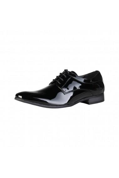Pantofi Duca di Morrone GEORGE_BLACK Negru - els
