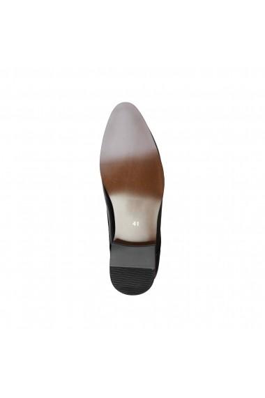 Pantofi Duca di Morrone GEORGE_BLACK Negru
