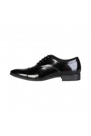 Pantofi Duca di Morrone WILLIAM_BLACK Negru