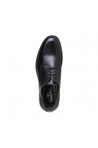 Pantofi Duca di Morrone ALBERT_BLACK negru